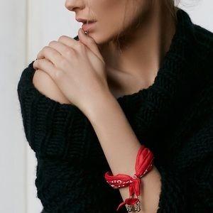 Free People Women's Bandana Bracelet